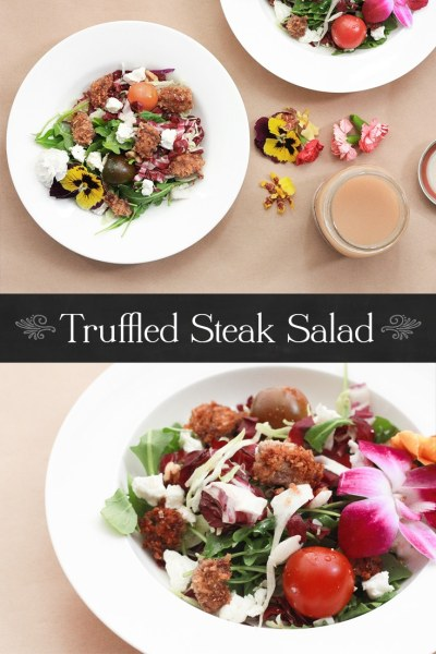 Truffled Steak Salad
