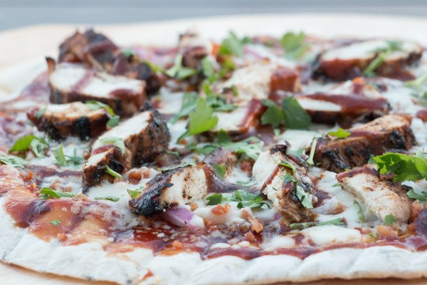 BBQ Jerk Chicken Pizza - Restaurant quality all done on the grill!