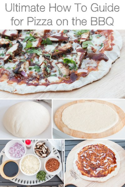 The ultimate guide to cooking pizza on the BBQ. Full of all the tips and tricks you need for perfect BBQ'd pizza every time!