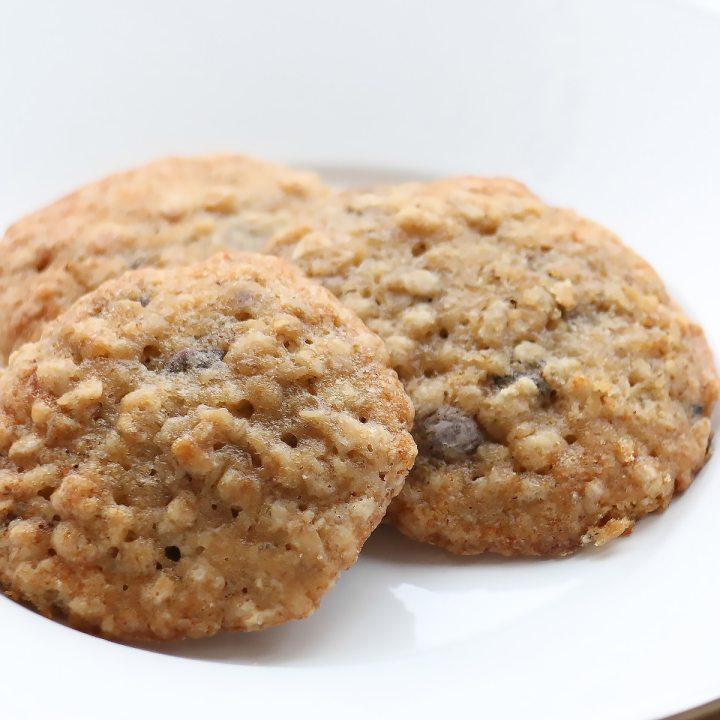 Oatmeal Banana Bread Snacking Cookies