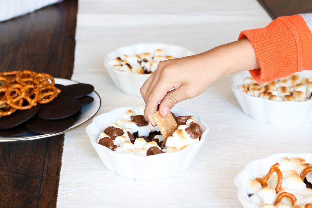 Pretzel S Mores Chocolate Chip Cookie Bars