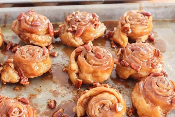 5 minute sticky buns