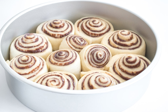Fluffy golden rolls with seemingly endless swirls of cinnamon, my best ever cinnamon rolls are the perfect weekend treat, and so easy to make! I promise you, they're so close to cinnamon rolls from the mall, you won't believe it!