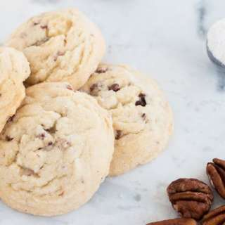 Melt in your mouth pecan sandies that bring back so many memories of my childhood! Way better than those store bought ones too!