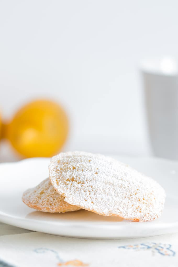 Classic Lemon Madeleines are the soft and delicate cookie of your dreams. A guaranteed cookie jar favorite (if they even make it into it!)