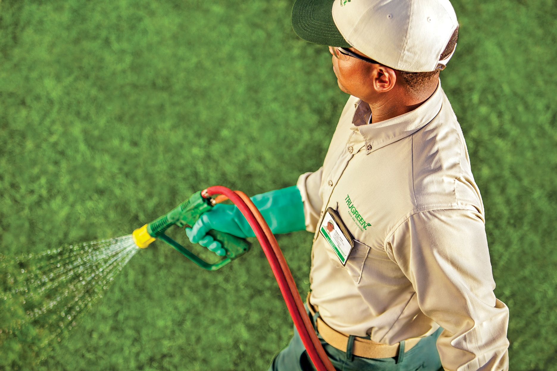 TruGreen professional lawn care for your backyard oasis