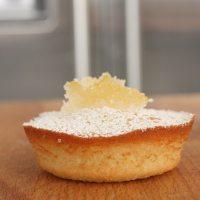 Lemon, Almond, and Honey Finger Cakes