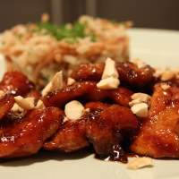 Sweet and Sticky Chicken with a Kick