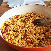 Southern Style Corn from the freezer