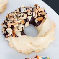 Chocolate Dipped Butter Cookies and a Giveaway!