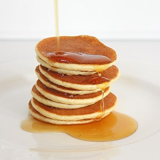 Ridiculously Easy Silver Dollar Pancakes