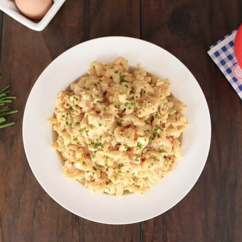 Ultimate Amish Style Macaroni Salad