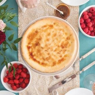 Ricotta Cheesecake Brûlée