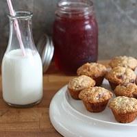 Jam Swirrled Muffins