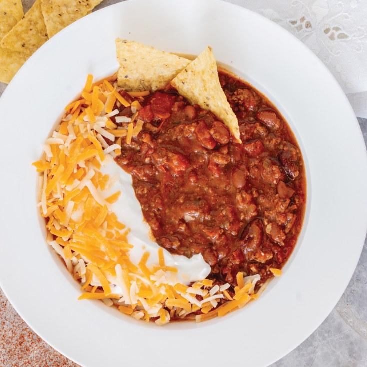 Easy Homestyle Chili