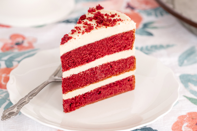 Red Velvet Cake with cream cheese frosting is a southern staple for good reason, it's freaking amazing! Here's my super easy, incredibly delicious recipe.