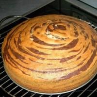 طريقة عمل الكيك الرخامي