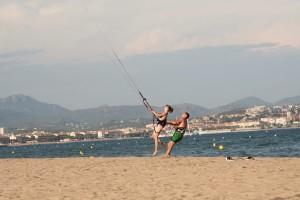 Fun at Kite Course