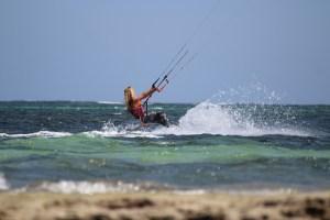 Keenia Watamu Turtle Bay kitesurfing