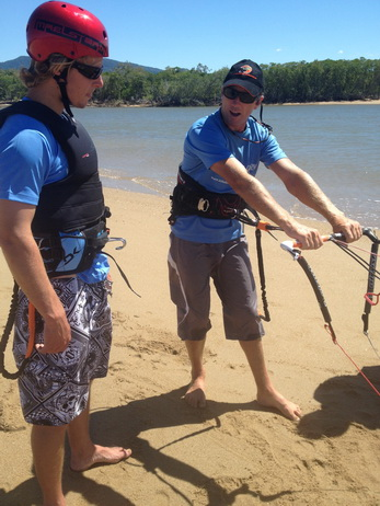 Kiteboarding Lessons Cairns
