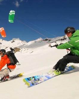 snow kite  lezioni