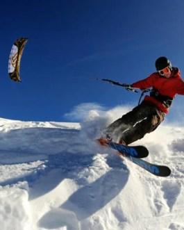 snow kite  corso