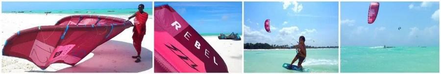 Review North Rebel at Kite Centre Zanzibar