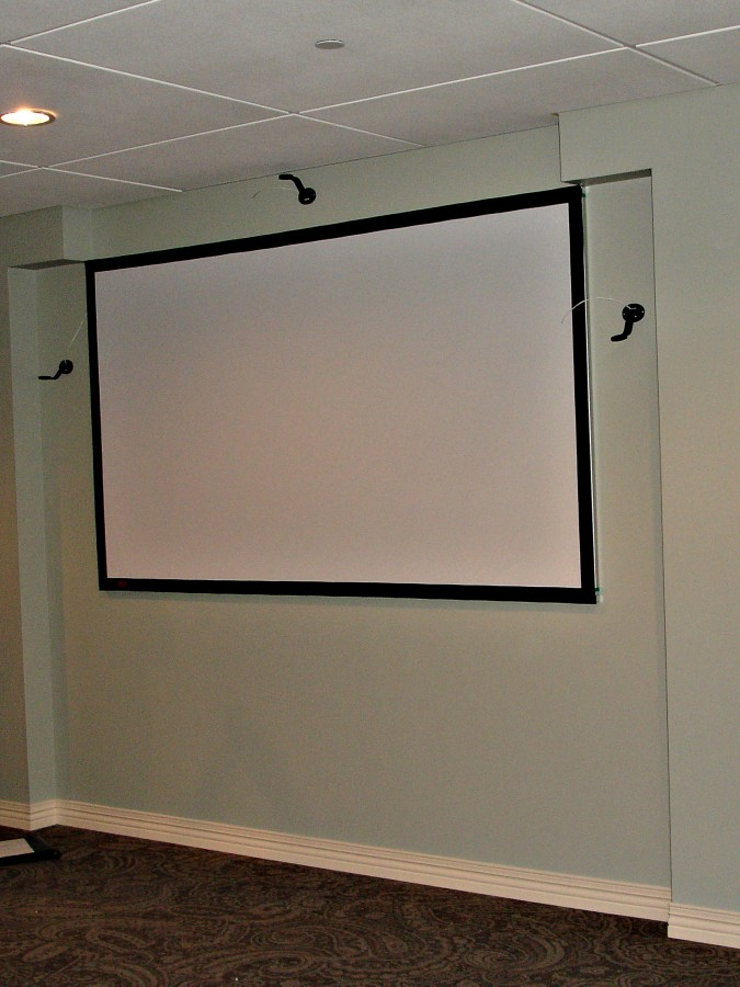 Projection Screens Kites Custom Interiors