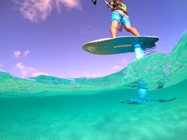 Sportif Tobago kiteboarding