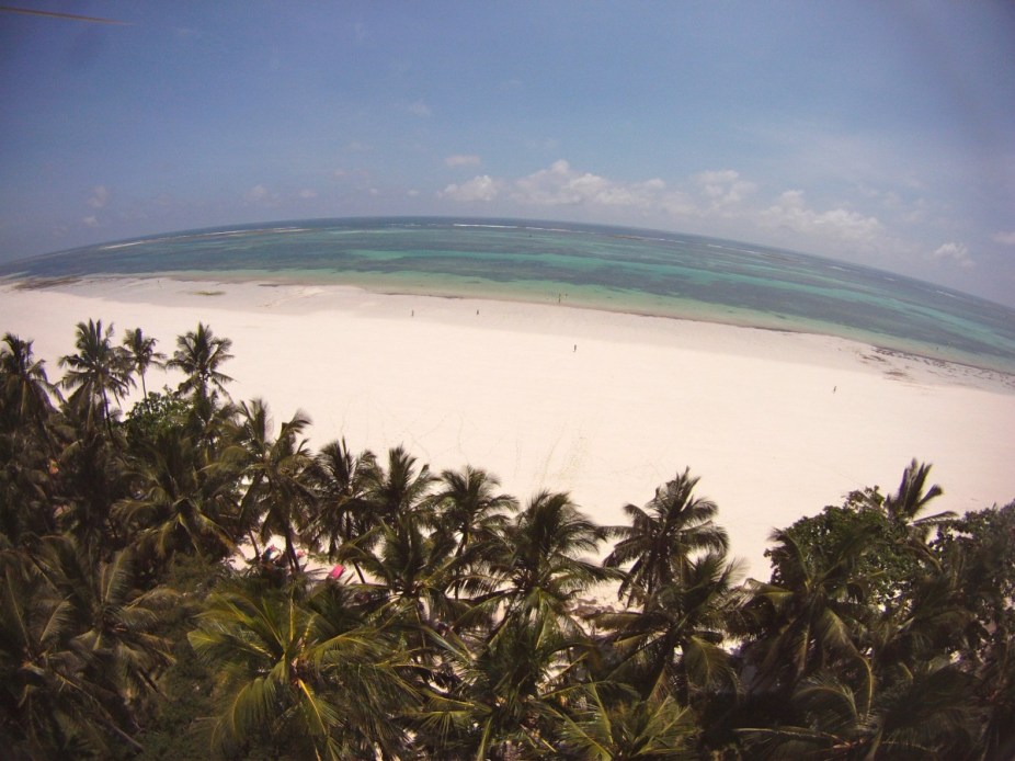Diani Aerial Beach View