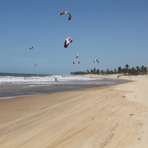 Daily downwind shred Cumbuco Brazil