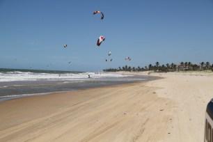 Daily downwind shred Cumbuco Brazil