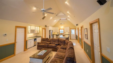 Kite Club Hatteras - Living area