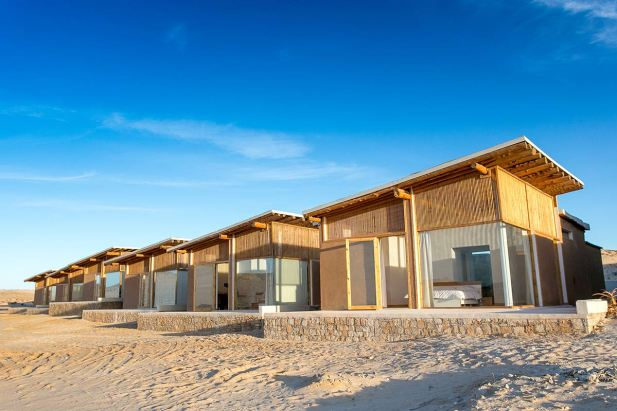 KiteWorldWide accommodation at Dakhla Lagoon in Morocco