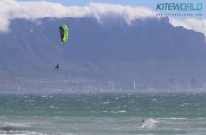 Nick Jacobsen big air kite loop Cape Town