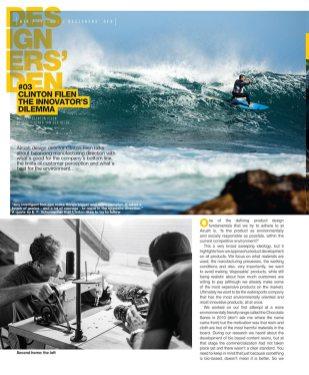 Clinton Filen Airush MD in Designers' Den Kiteworld issue 82