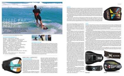 Ride Engine and Dakine C1 hard shell harness reviews Kiteworld magazine