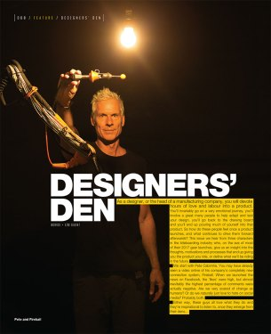 Pete Cabrinha Fireball interview Designers' Den Kiteworld issue 82