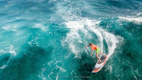 St Martin - SUP wave