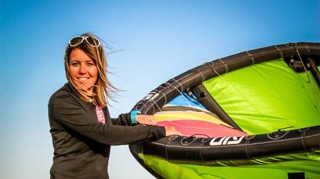 Fabienne Kaufmann - GIN Kiteboarding