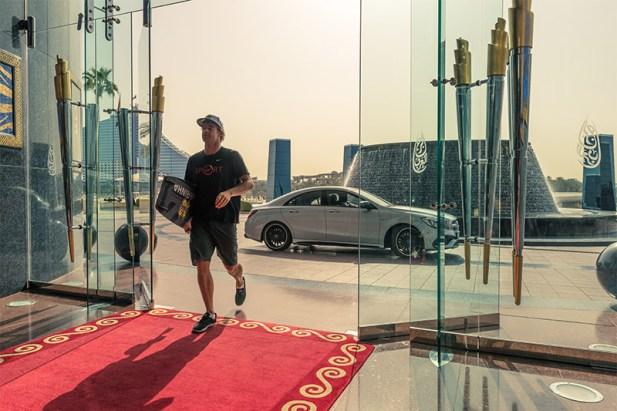 Nick Jacobsen Dubai jump