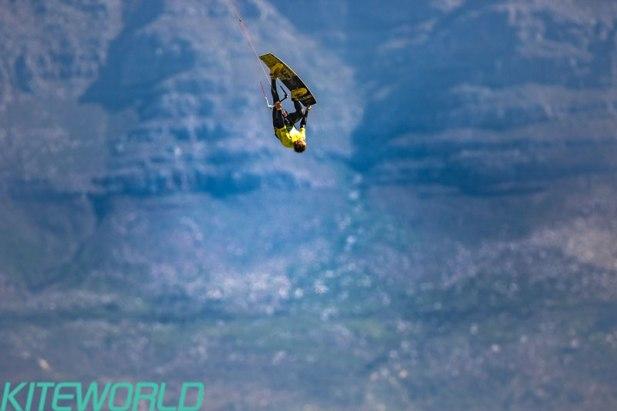 Ruben Lenten's final heat against Kevin Langeree was final worthy in itself - Image: BERTUS