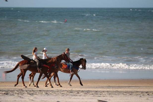 Horse riding Cumbuco Beach