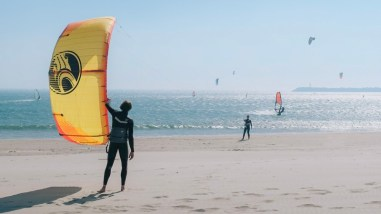 Kiting at Cabedelo