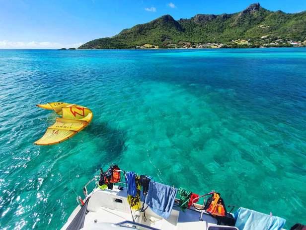 The Action Cruise - kiteboarding cruises