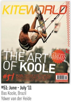 Ydwer van der Heide Kiteworld Magazine cover