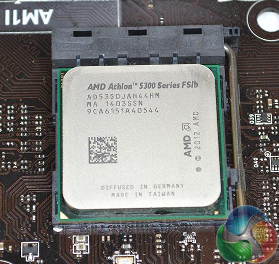 AMD Athlon 5350 Kabini AM1 Platform FS1b APU Review W