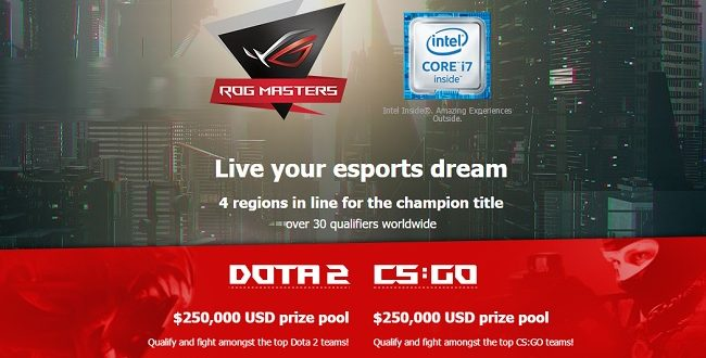 ASUS Announces Return Of ROG Masters 500000 Prize Pool Up For Grabs KitGuru