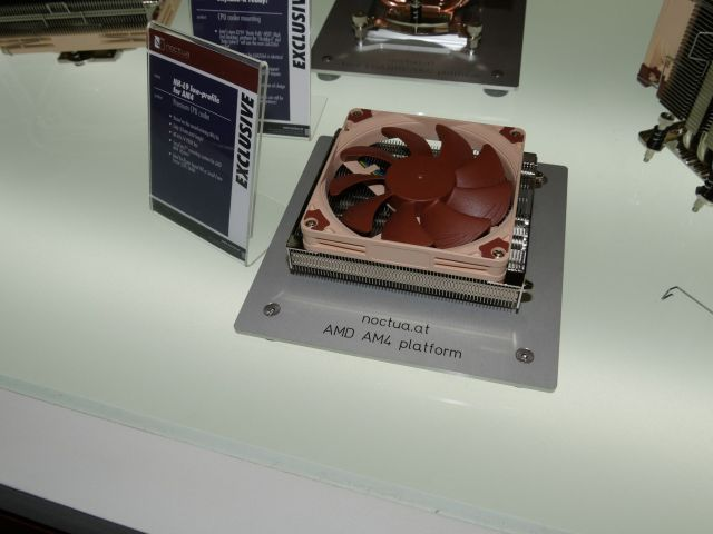 P1020883 Austrian manufacturing company, Noctua has come up with some new fan designs and other cooling options designed specially for AMD