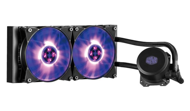 MasterLiquid RGB 1 Cooler Masters MasterLiquid ML240L and the ML120L   The RGB PC coolers are cooler than you think!